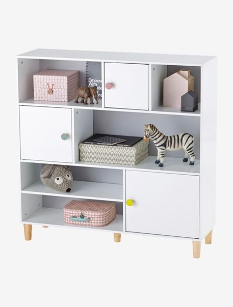 Kinderzimmer Regal Grau Weiss 1 Vertbaudet Design Little Things