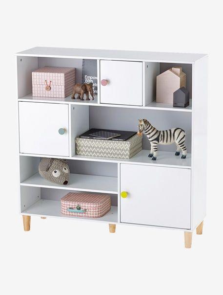 Bibliothèque enfant - Gris/blanc - 1 | Chambre Louise | Pinterest ...