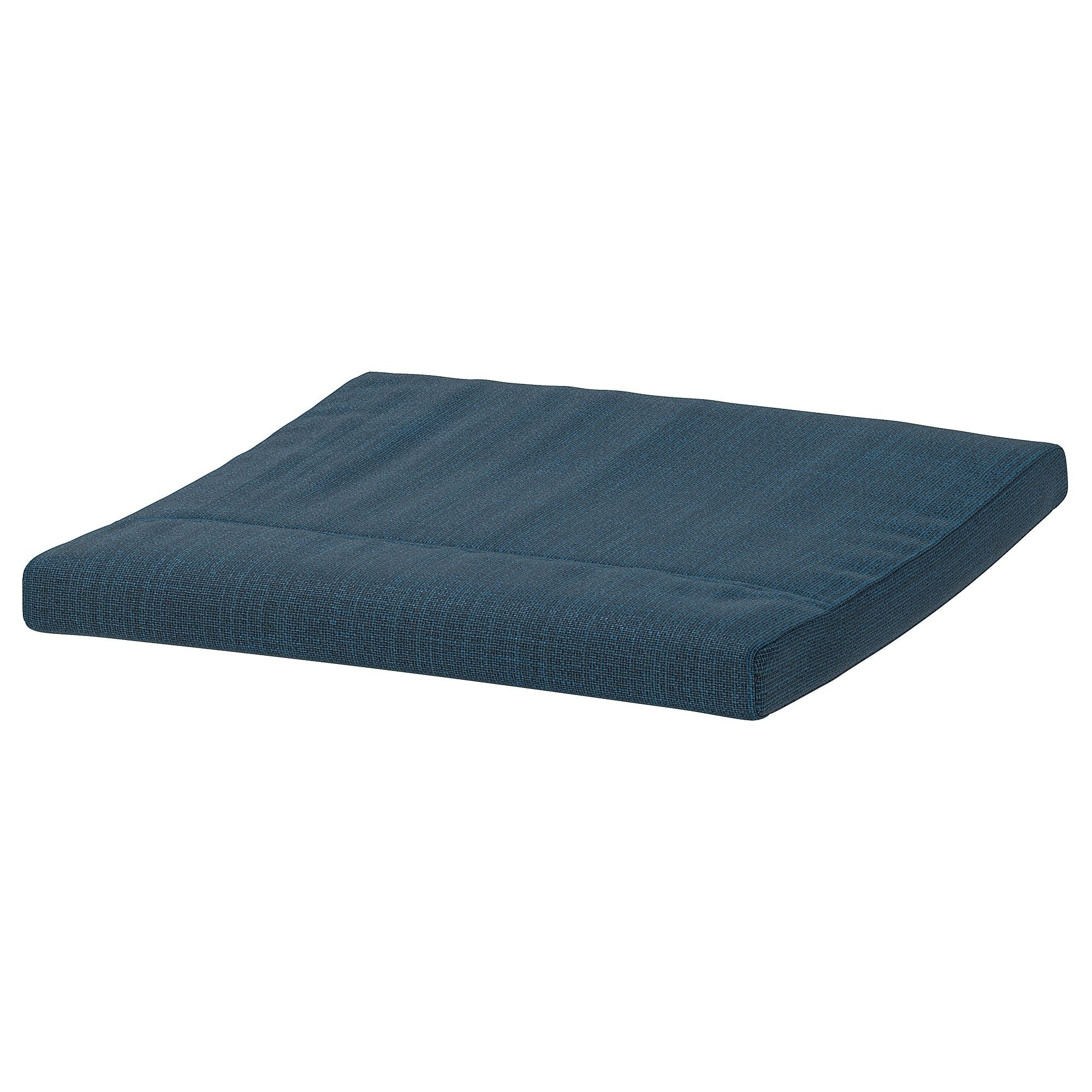 Ikea Poang Footstool Cushion Hillared Dark Blue Cushions