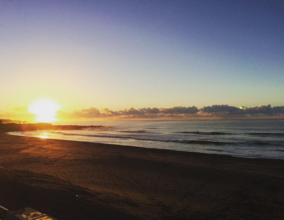 Azores islands — Dawn #surf session #azores #waves #ocean...