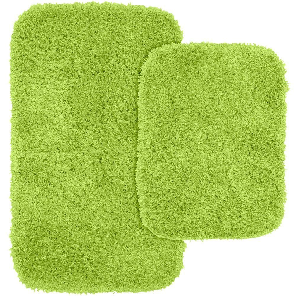 Lime Green Bathroom Rugs Sets