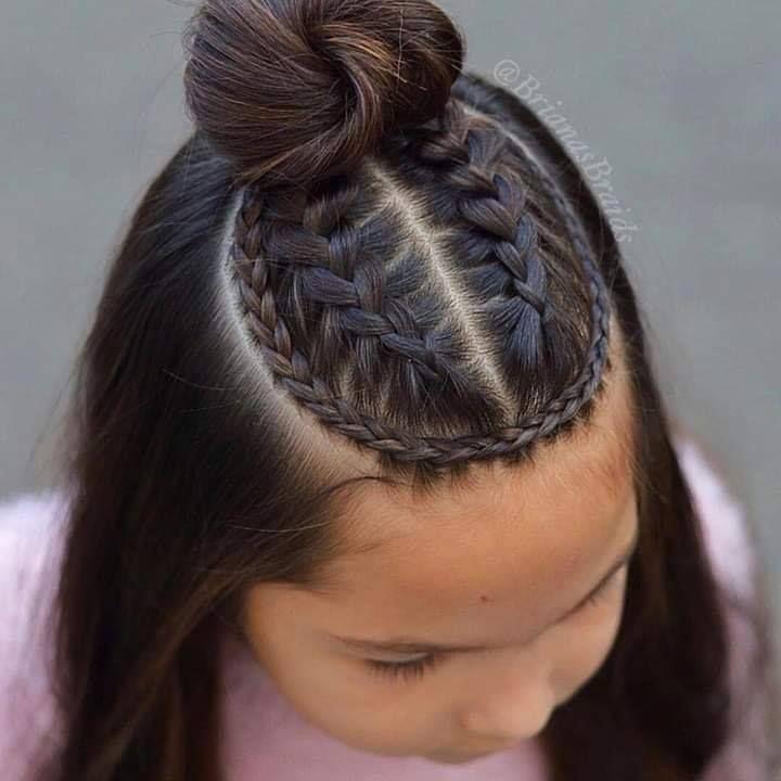 Peinados Para Ninas Con Trenzas Peinados Con Trenzas Pelo Corto Peinados Con Trenzas Faciles Peinados Poco Cabello