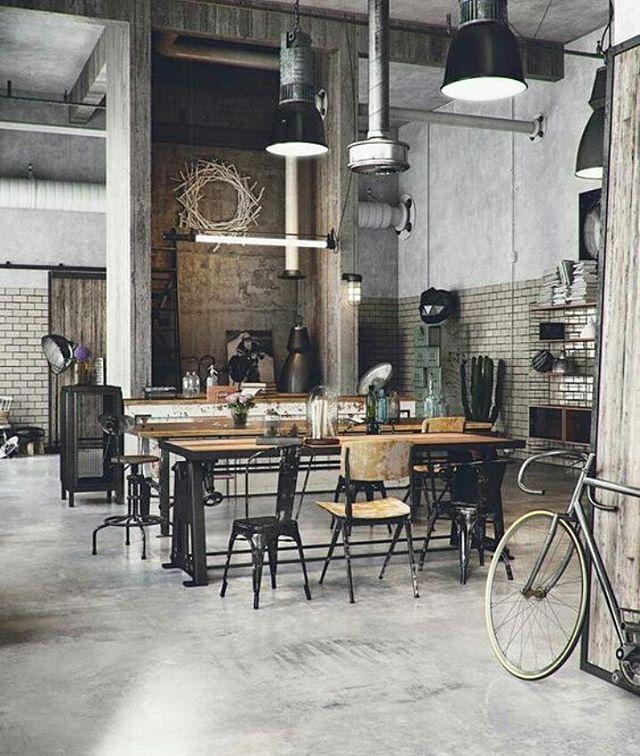 Decoracion Vintage Industrial Moderno