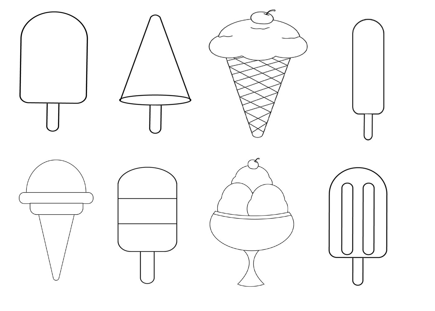 Ice Cream Coloring Pages Ice Cream Coloring Pages Coloring Pages Free Coloring Pages