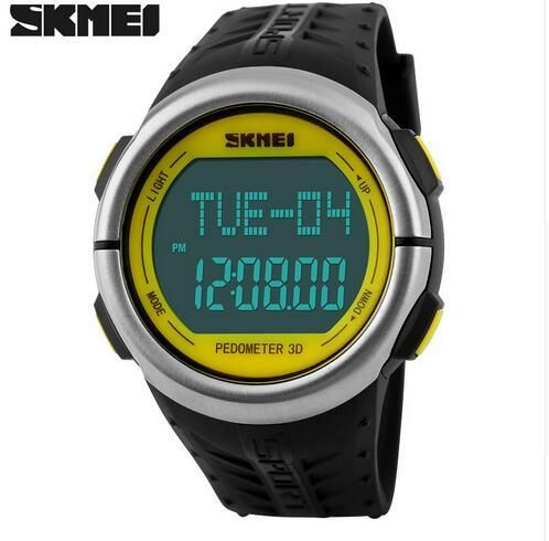 Smart Skmei Calories Pedometer Military Sports Mens Fashion Digital Waterproof Wristwatches Compass Relogio Masculino Strong Resistance To Heat And Hard Wearing Watches Men's Watches