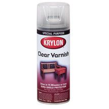 Krylon Clear Wood Finish 11oz Varnish Satin Garden