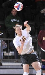 Congratulations To All American Joe Smalzer He Capped Off An Impressive Year With A Selection To Mens Volleyball Chicago University Loyola University Chicago
