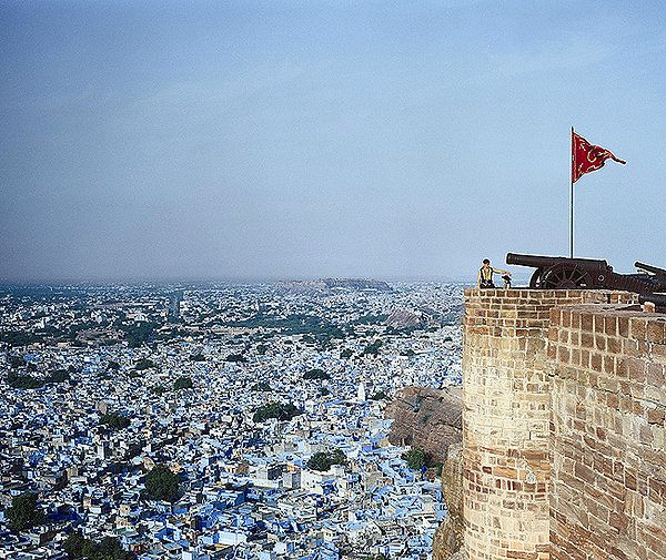 The Blue City Jodhpur, Rajasthan, India Fall pictures
