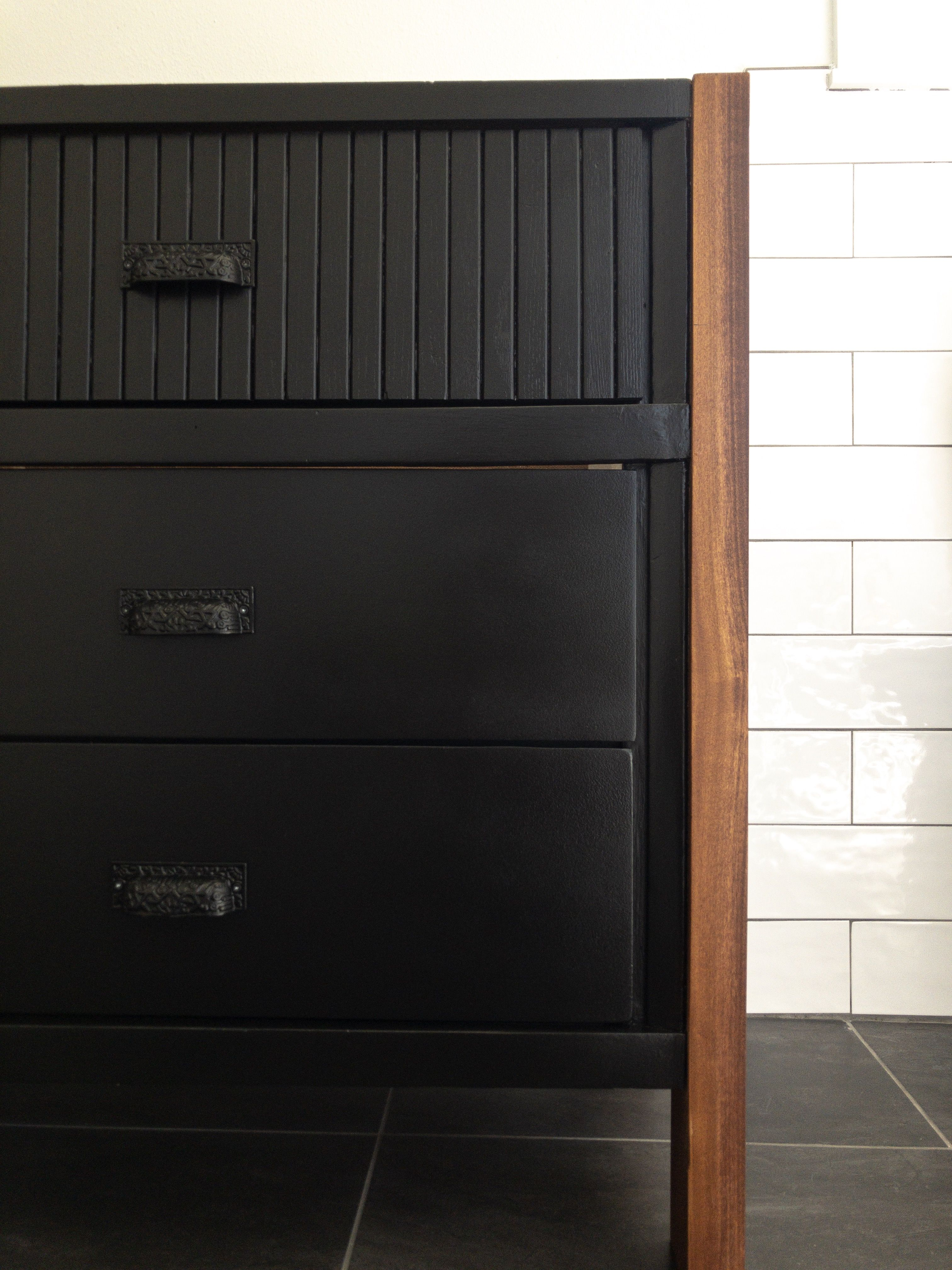 How To Repurpose A Dresser Into A Vanity: Step By Step