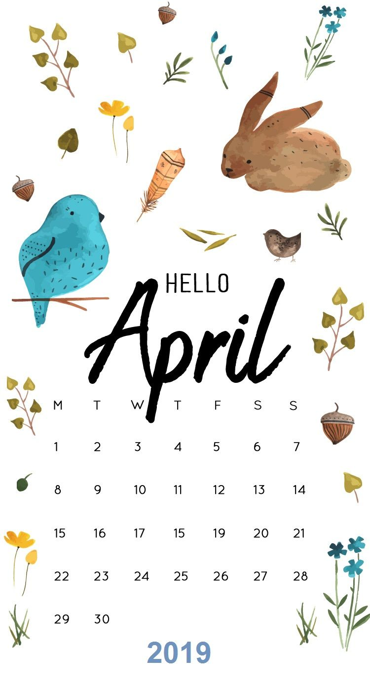 April 2019 Calendar Hd Wallpapers Calendar Wallpaper Free