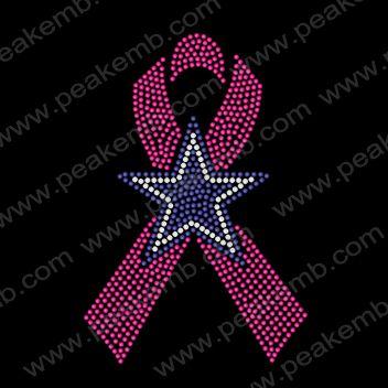 dallas cowboy star with pink ribbon google search
