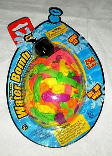 Water Balloon Bombs with Filler Nozzle - 250 $7.99 (11% OFF)