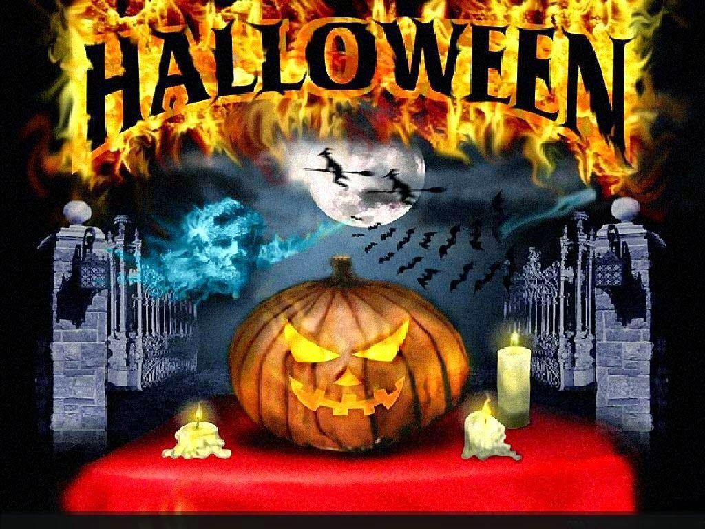 Halloween Wallpaper 1024x768 High Definition Wallpapers Free Creepy Halloween Decorations Spooky Halloween Decorations Halloween Wallpaper