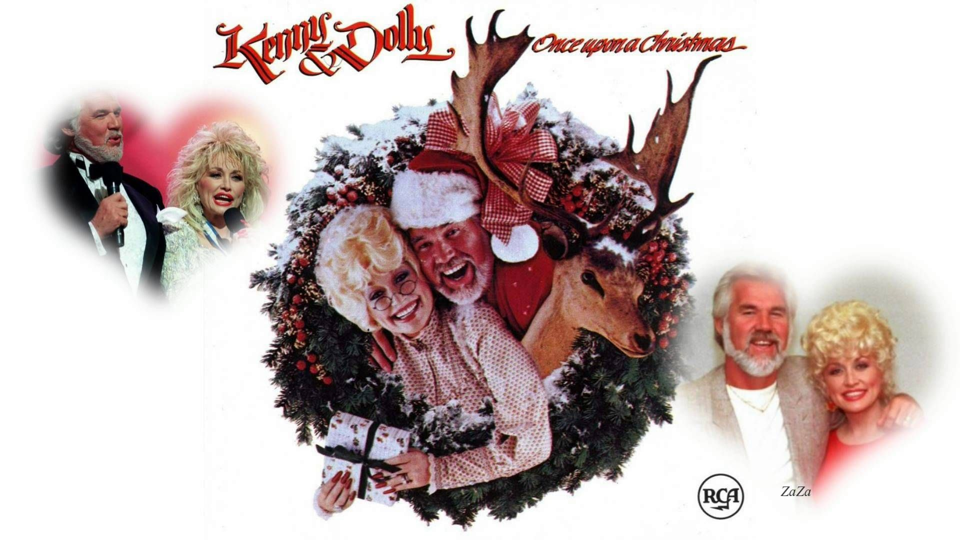 Dolly Parton & Kenny Rogers ~ Once Upon A Christmas (Full Album ...