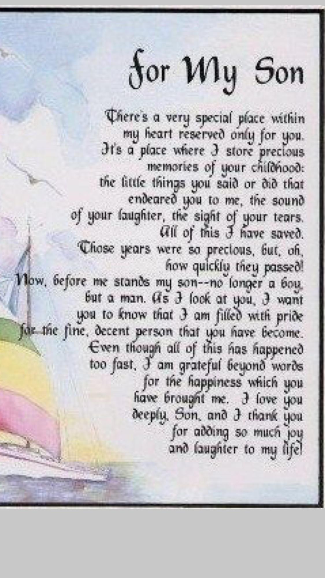 Pin by Shelley RosenChavez Avon Repr on Son Quotes Son