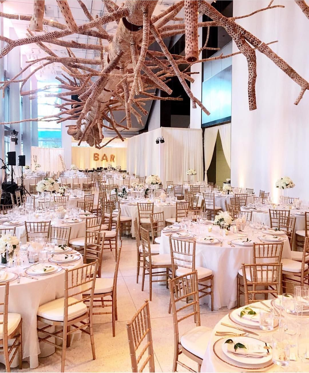 Pedersen S Als Were Used To Create This Wedding Reception At The Seattle Art Museum Weddings Gold Events Eventals Love Venue