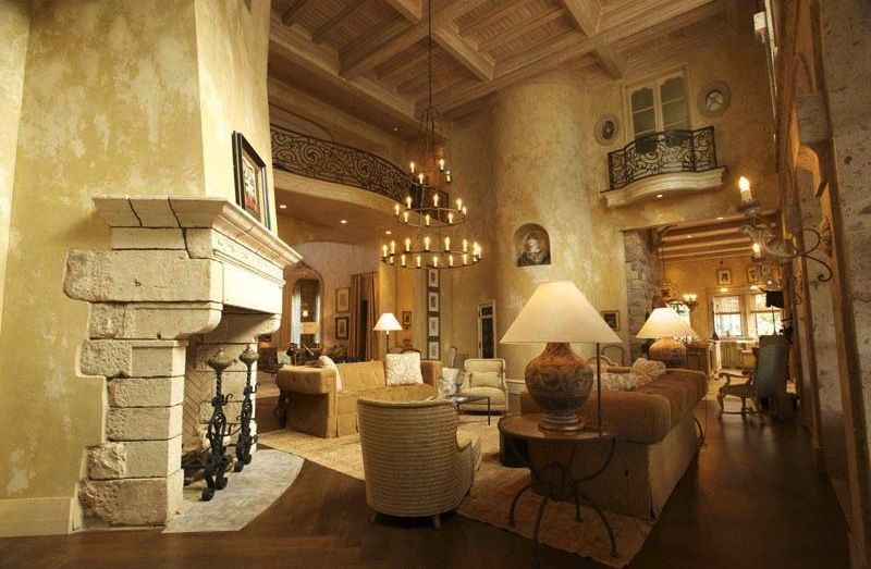 Gothic Style Interior Design tuscan interior designs | old world tuscan interior design style