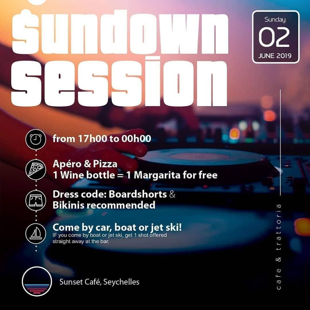 OK PARTY PEOPLE READY We are launching our SUNDOWN SUNSET SESSION on specific Su