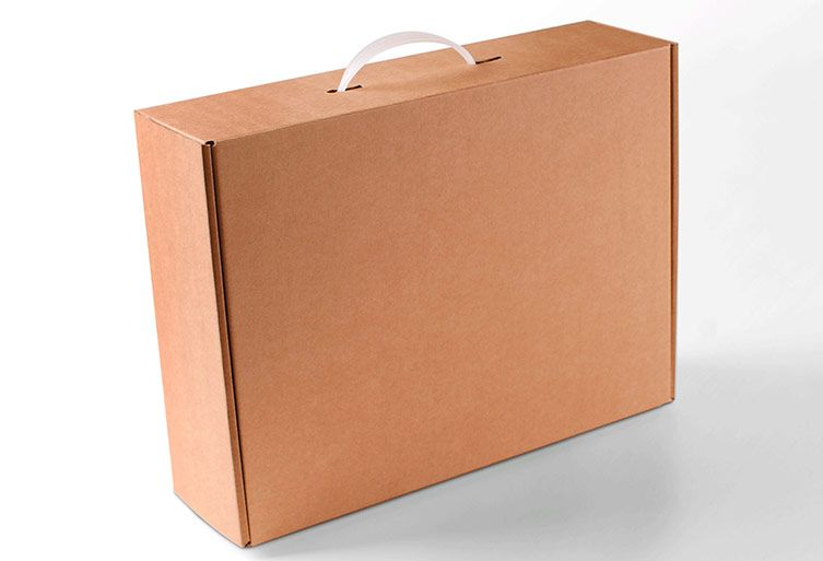 Cardboard briefcase handle, to transport easily (With images ...
