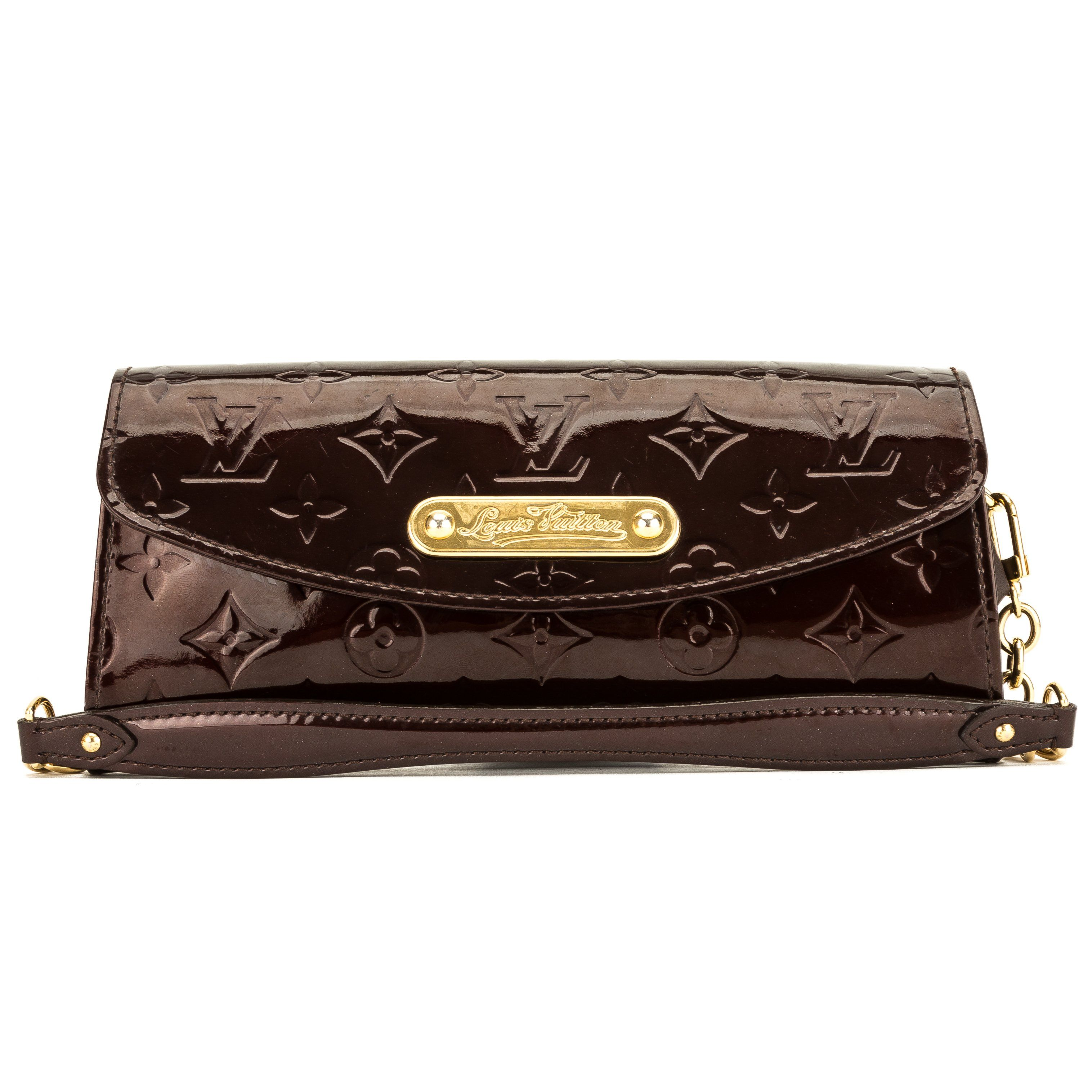 cda7c78c27 Louis Vuitton Amarante Monogram Vernis Leather Sunset Boulevard Bag (Pre  Owned)