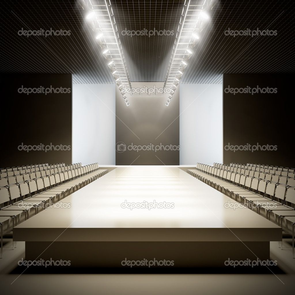 empty fashion show runway stage wwwimgkidcom the