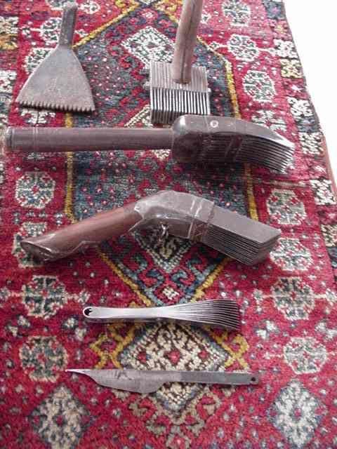 Kurdistan Looms And Weaving Tools Alfombras Persas Alfombras Persas