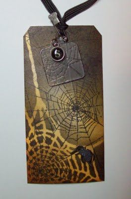 JJ Paper Creations: Tim Holtz Halloween Tags!!