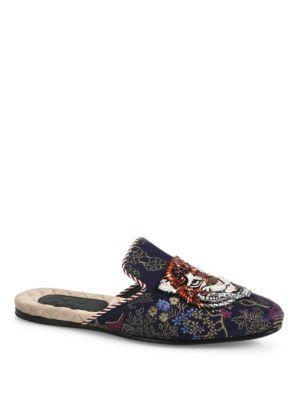 ccceabf52920 GUCCI Disney Duck   Tiger Multi Printed Mules.  gucci  shoes  sandals