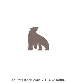 Stock Photo And Image Portfolio By Art Dn Shutterstock Icon Design Bear Logo Logo Templates