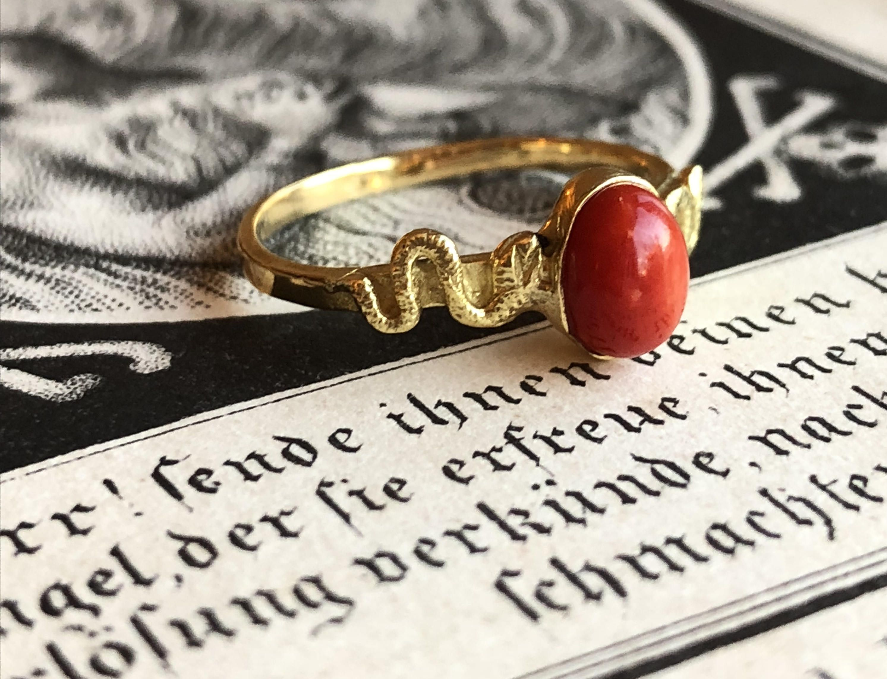 shop handcrafted gibbings ring simple fine daniel serpent rings jewelry