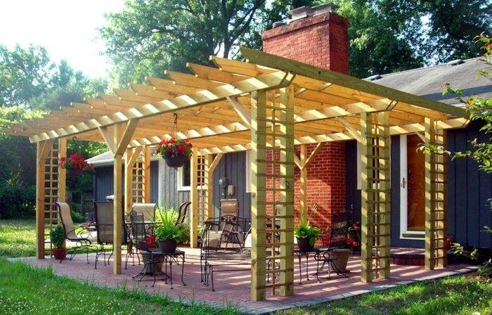 Garten Überdachung Als Eine Voraussetzung Für Schöne Zeit Im Außenbereich