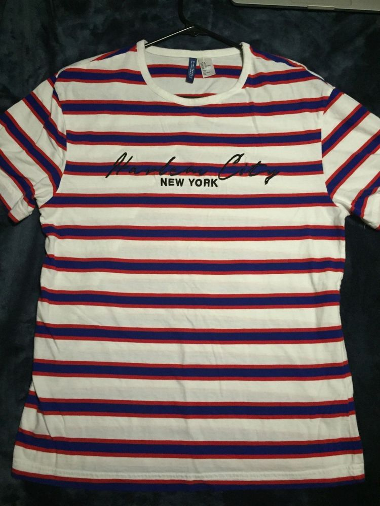 d45e50a51 Harlem CityNew York H&M T-Shirt Mens Size Medium #fashion #clothing