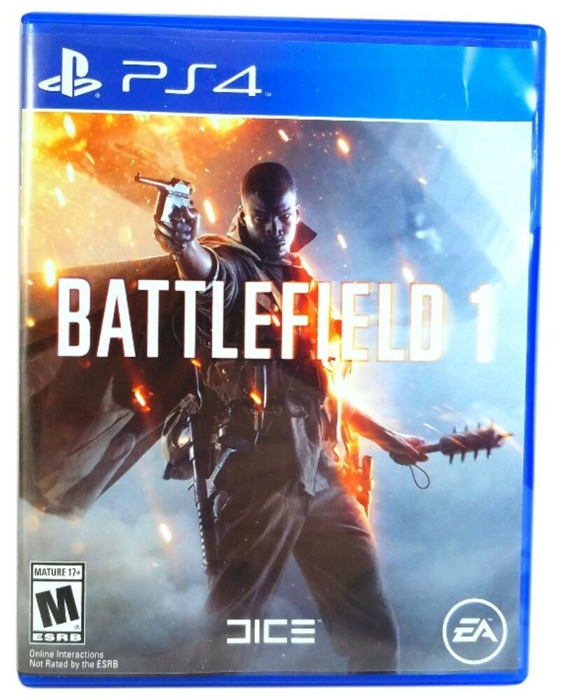 Ea Dice S Battlefield 1 Playstation 4 Standard Edition Video