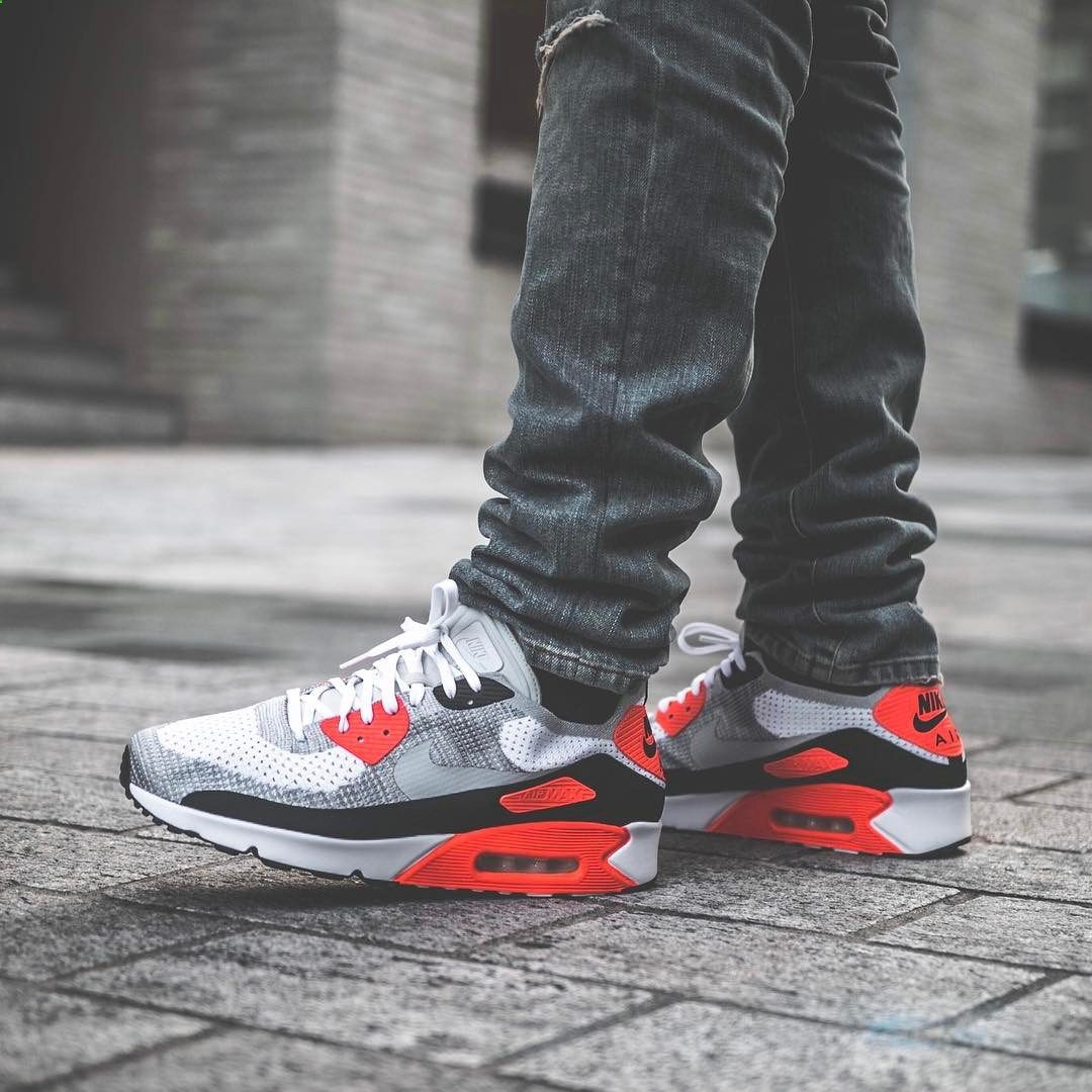 Nike Air Max 90 Ultra 2.0 Flyknit Infrared | Running shoes