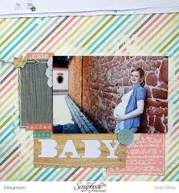 iLoveSchnipsel: Warten aufs Baby {Simple Stories - Hello Baby}