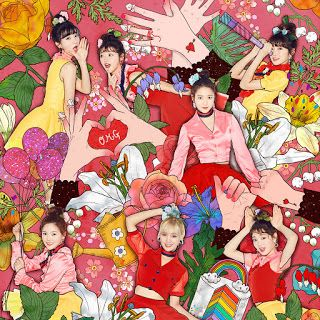 Oh My Girl Coloring Book Music Review Coloring Book Album Coloring Books Photo Book