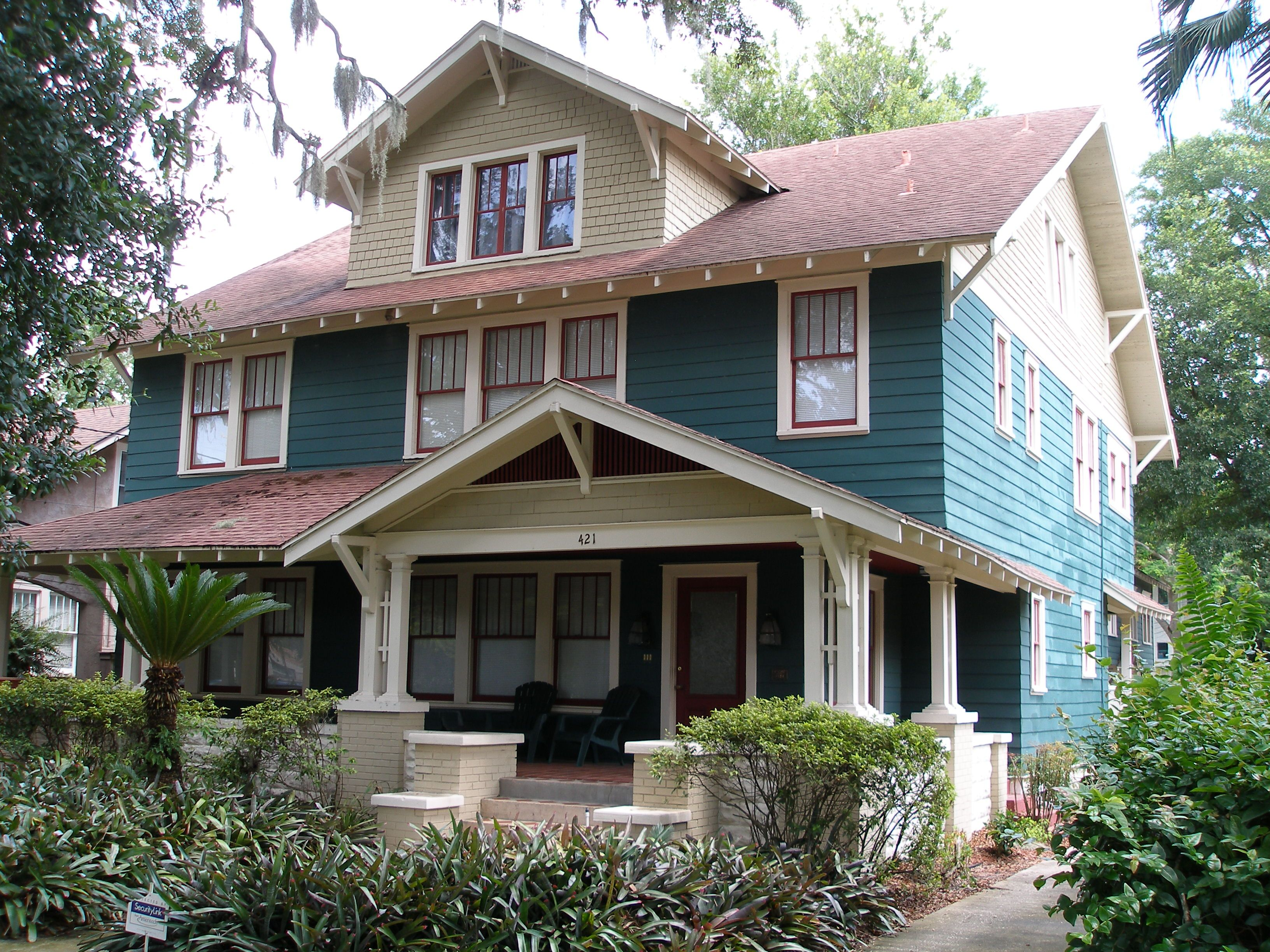 orlando s historic districts lake eola heights craftsman style
