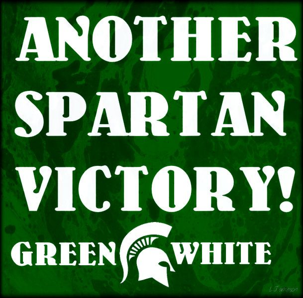 Another Spartan Victory Made By Larry O Jameson Jr Michigan State Basketball Michigan State Michigan State Football