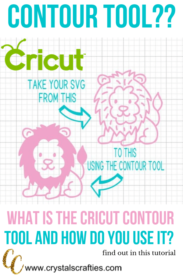 What is the Cricut Contour Tool and how do you use it?