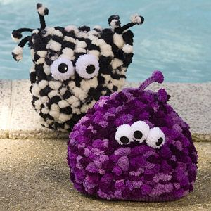 Knitted Creature Pillows