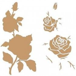 Stencil Deco Multicapa 004 Rosa