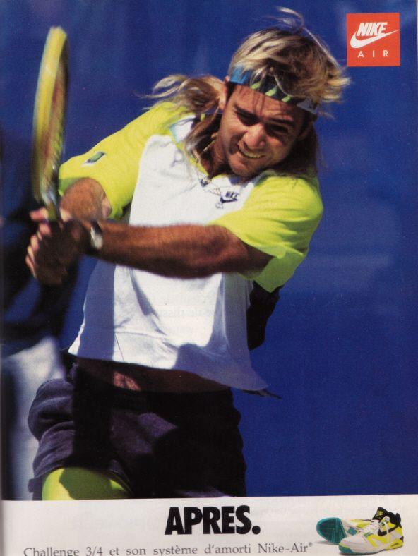 best sneakers 66894 2c609 Andre Agassi - Rock n Roll Tennis