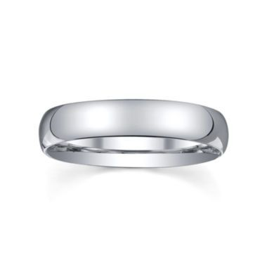 4mm silver domed mens wedding ring found at jcpenney - Jcpenney Mens Wedding Rings