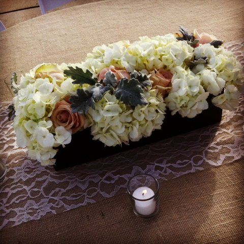 blush-rose-dusty-miller-and-white-hydrangea-centerpiece-meridian ...