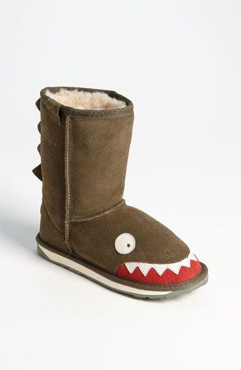 Emu Australia Croc Little Creatures-Shark Snow Boot Kids