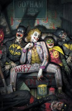 Joker 80th anniv 100 page super spect #1 ryan brow