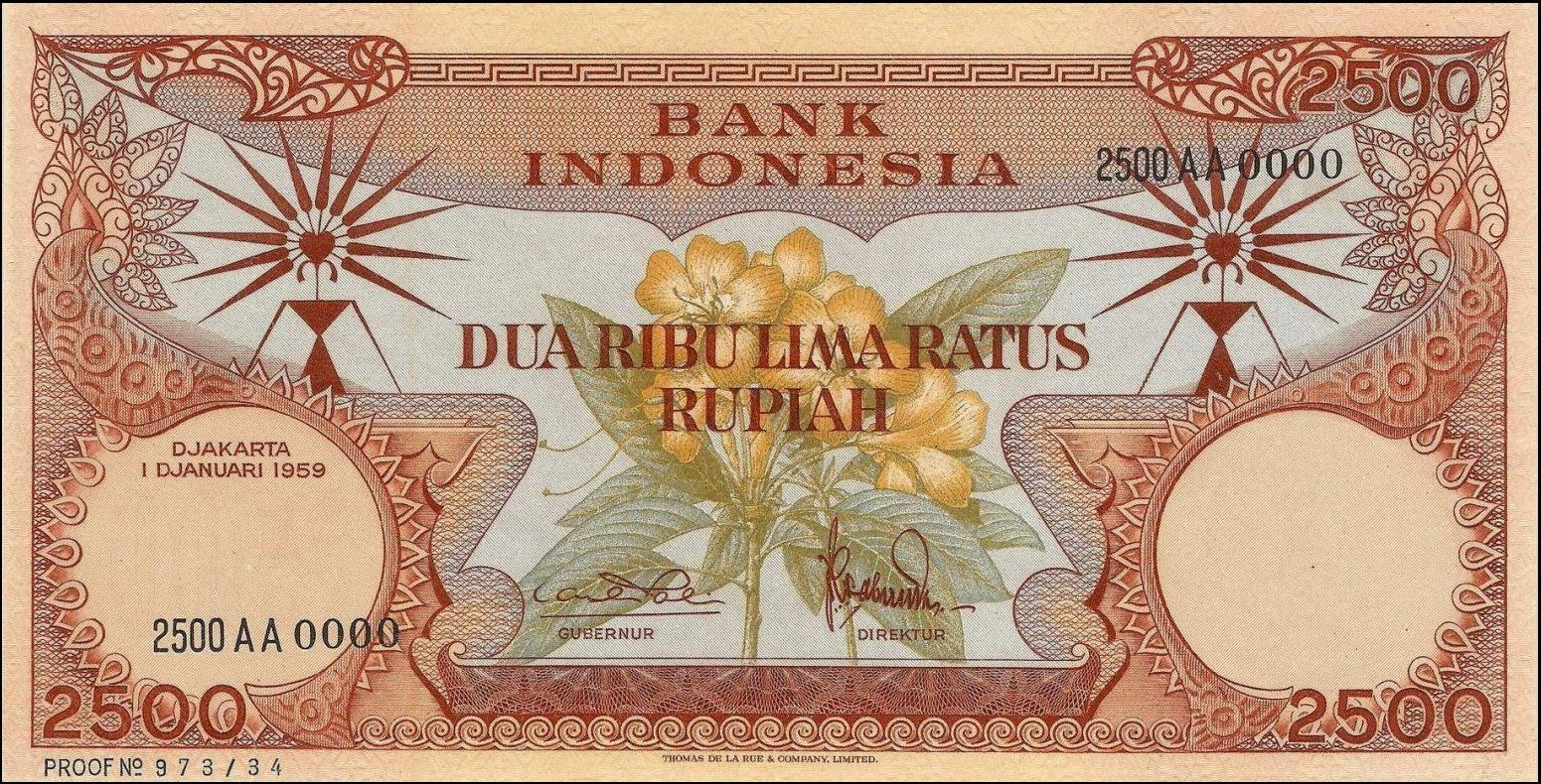 Indonesia 2500