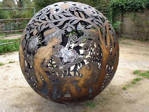 Steel / Iron Abstract Contemporary Or Modern Outdoor Outside Exterior Garden  / Yard Sculptures Statues Statuary Sculpture By Artist Aragorn Dick Read ...