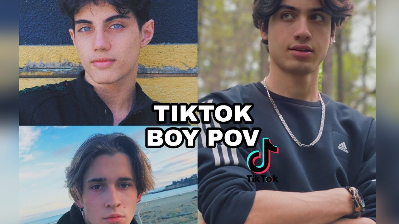 Tiktok Boys Pov Full Screen In 2021 Pov Boys Screen