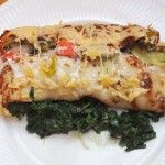 pannenkoek met groente
